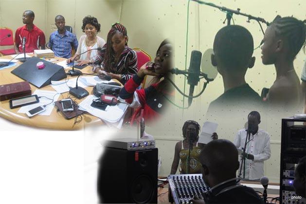 La Team pour notre série radiophonique